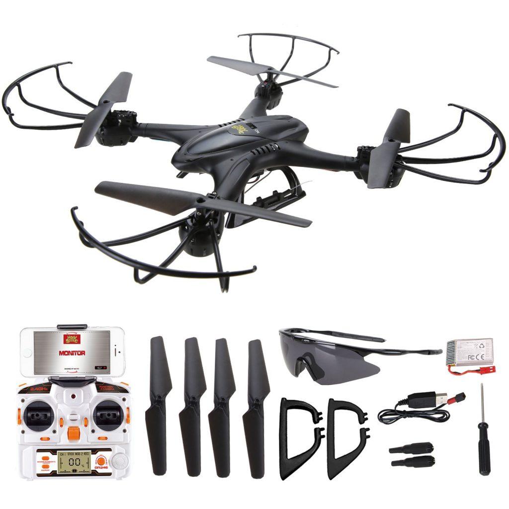 deerc rc quadrocopter drohne test 2018 2019. Black Bedroom Furniture Sets. Home Design Ideas