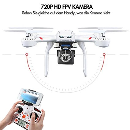 goolrc quadrocopter mit 720p hd kamera drohne test 2019. Black Bedroom Furniture Sets. Home Design Ideas