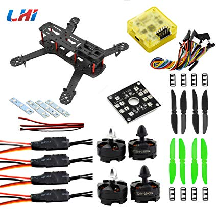 No Name LHI QAV250 Pure Carbon Fiber Mini Quadcopter
