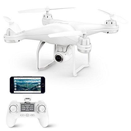 Potensic RC Quadrocopter mit Dual-GPS